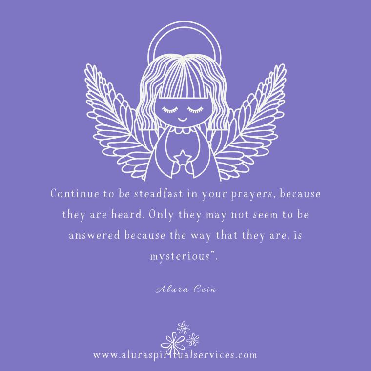 Spiritual quote, Alura Cein, angel quotes, spirituality, prayer,